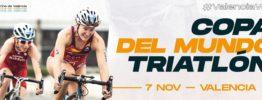 La Copa del Mundo de triatlón llega a Valencia