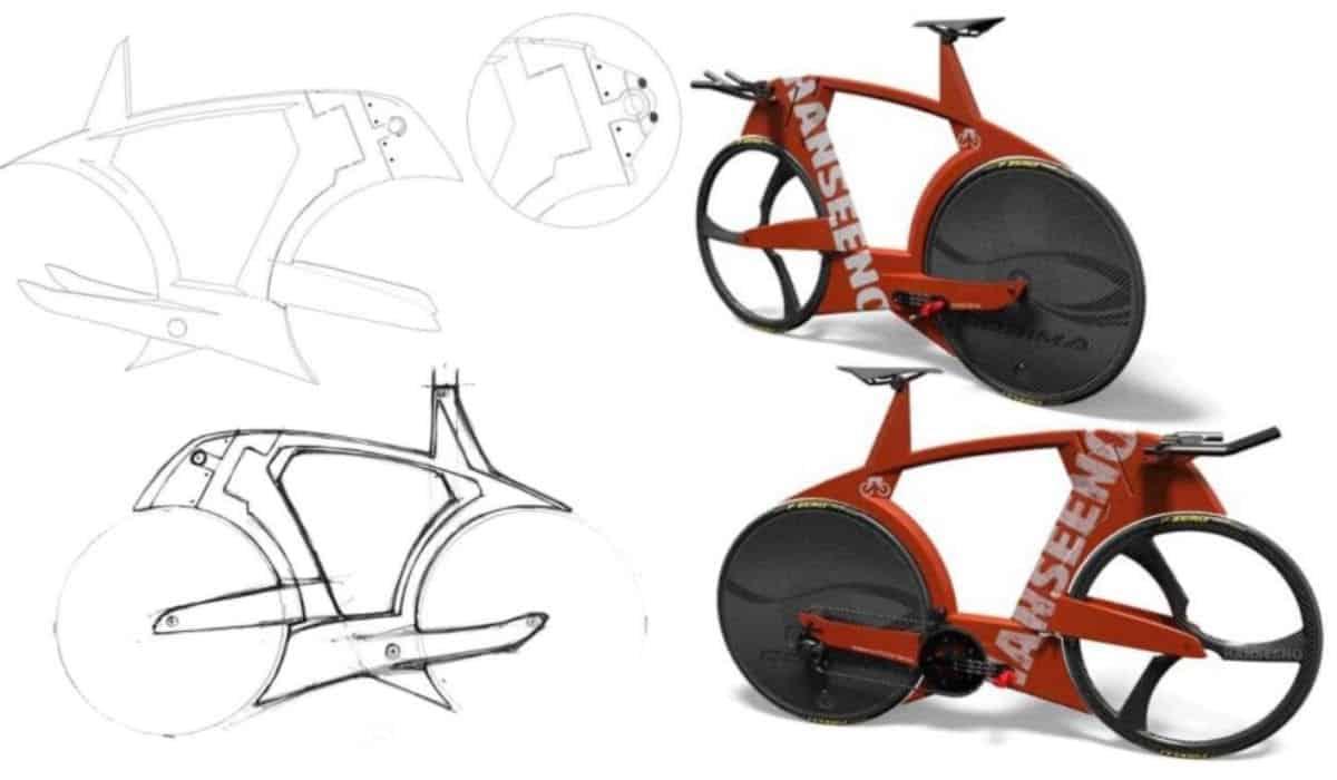 Adam Hasen bicicleta
