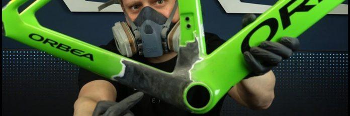 reparar cuadro de carbono