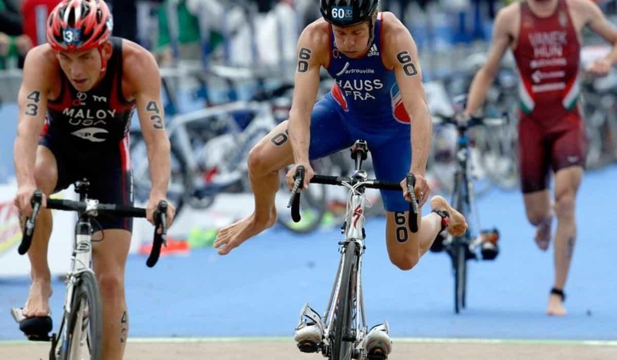 transición t1 triatlon