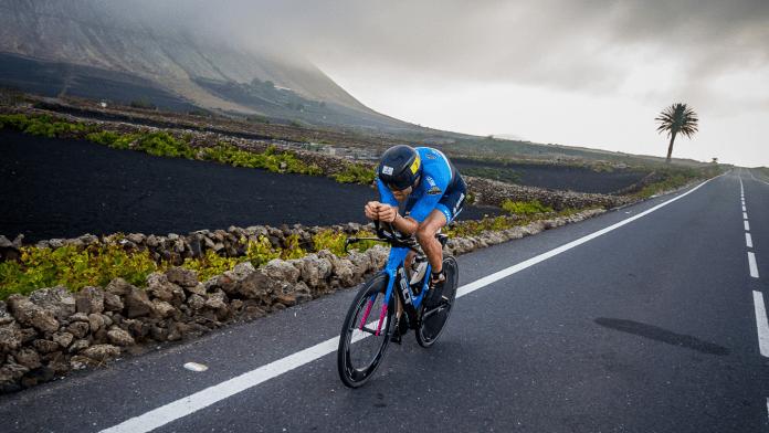 Emilio Aguayo en Ironman 70.3 Lanzarote
